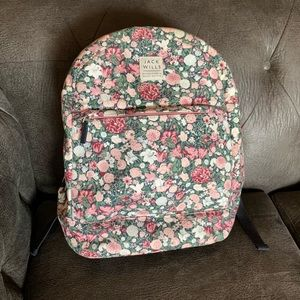 Jack Wills Bags - Jack Wills Floral Backpack With Laptop Sleeve